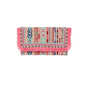 Shiraleah | Multicolor Lotta Clutch | NWT